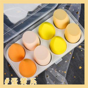 Factory Wholesale Ultra Soft Multi Color Makeup Sponge Peach Shaped Foundation Beauty  Makeup Blender Sponge Cosmetic Puff