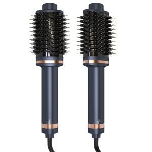 Fashion 3 In 1 Hair Dryer & Volumizing Brush Comb One Step Hair Dryer And Styler Electric Curler Straightener Hot Air Brush