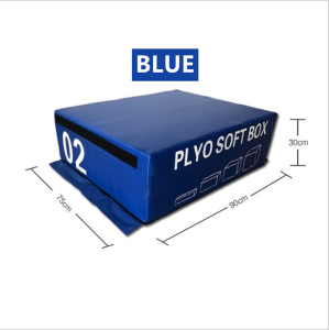 foam plyo soft gym equipment Foam Plyometric Box Jumping Exercise