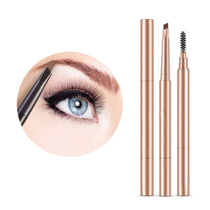 Fundy Double-end Automatic Brown Pigments Makeup Eye Brow Tattoo Pen Waterproof Long Lasting Eyebrow Pencils