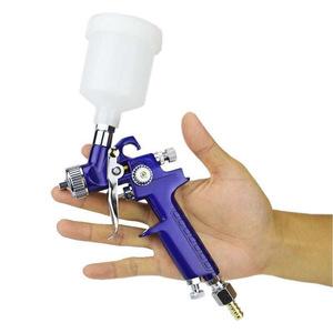 Hot Sale 0.8MM/1.0MM Nozzle H-2000 Professional HVLP Spray Gun Mini Air Paint Guns Airbrush For Painting Car Aerograph
