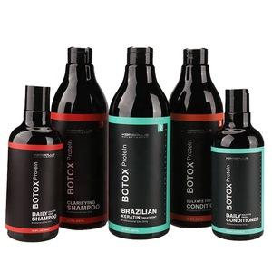 JINGXIN BOTOX professional salon smooth aromatic luster elegant black hair growth shampoo