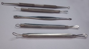 stainless steel blackhead remover blemish kit/ acne and pimple remover extractor/ multifunction other beauty equipment
