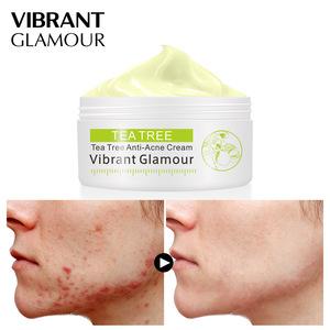 Tea Tree Anti-acne Face cream Acne Scar Cream Shrink Pores Facial Eliminates Acnes Cream Oil control Repair Spot