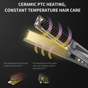 Titanium Wholesale Private Label Personalized Infrared Flat Irons Brand 1Inch Flat Iron Hair Straightener